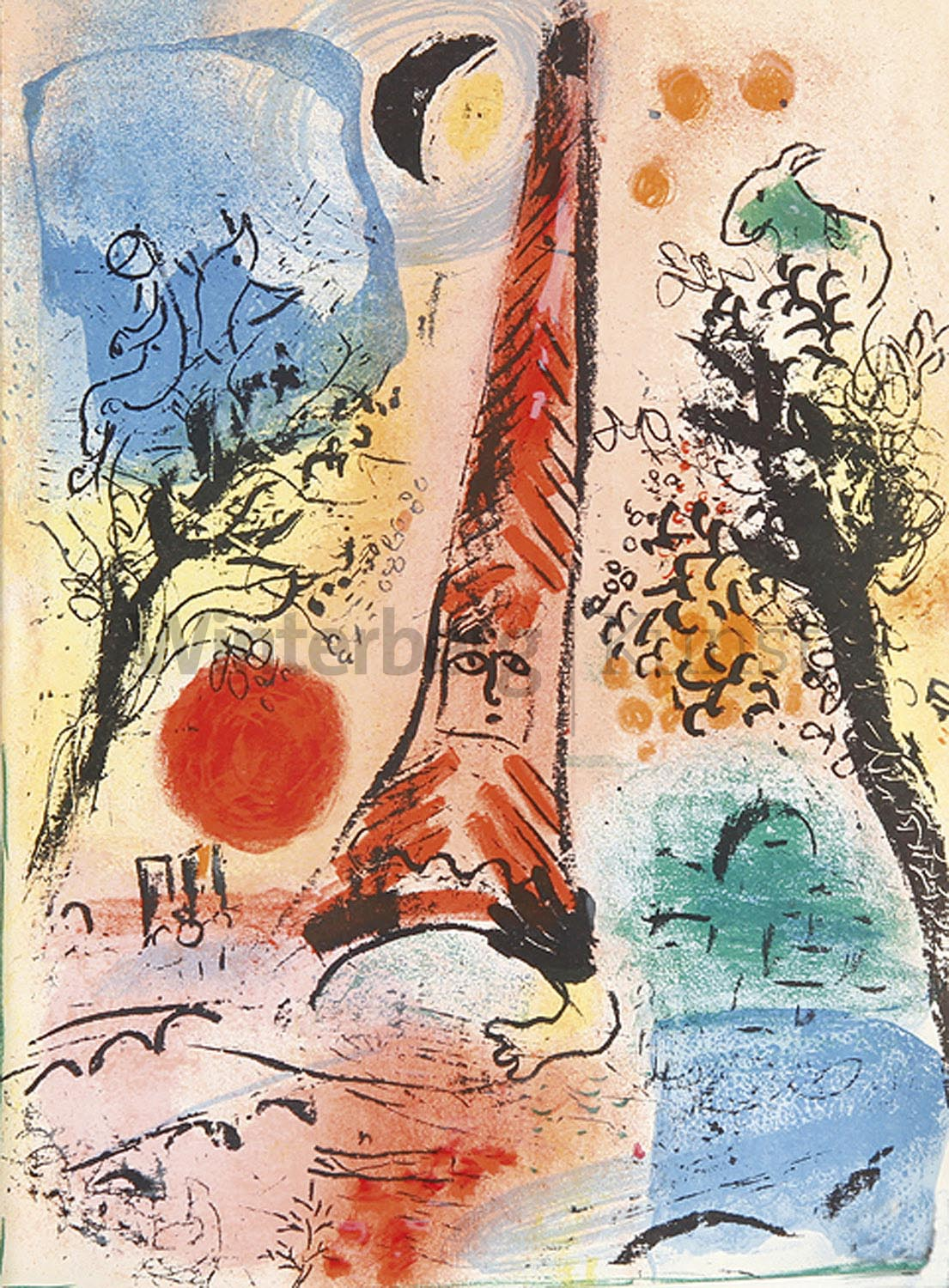 MARC CHAGALL Witebsk 1887 - 1985 Vence: Chagall, Lithograph I-IV.